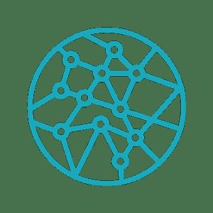 Globe Connection Graphic Icon